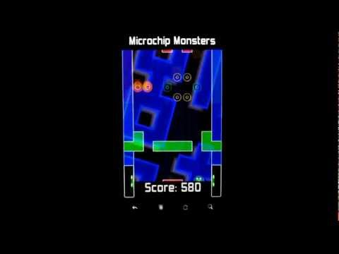 Video of Microchip Monsters
