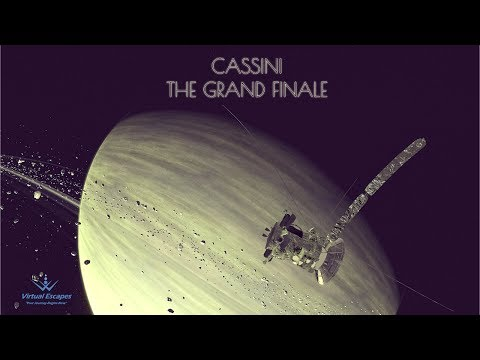 Cassini: The Grand Finale ***NOW IN 3D!!!***