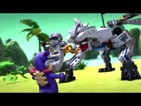 Vidéo LEGO Ninjago 70748 : Le dragon de Titane