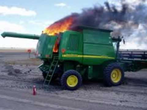 Tractors: Crashes & Fires