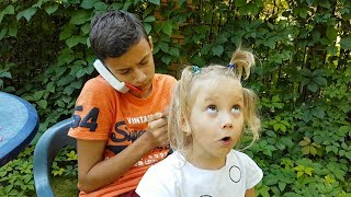 Video Pasha is combing Alena Kids pretend play with children activity by Chiko TV MP3, 3GP, MP4, WEBM, AVI, FLV Agustus 2018