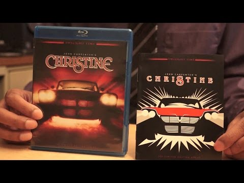 Christine Blu-Ray Unboxing