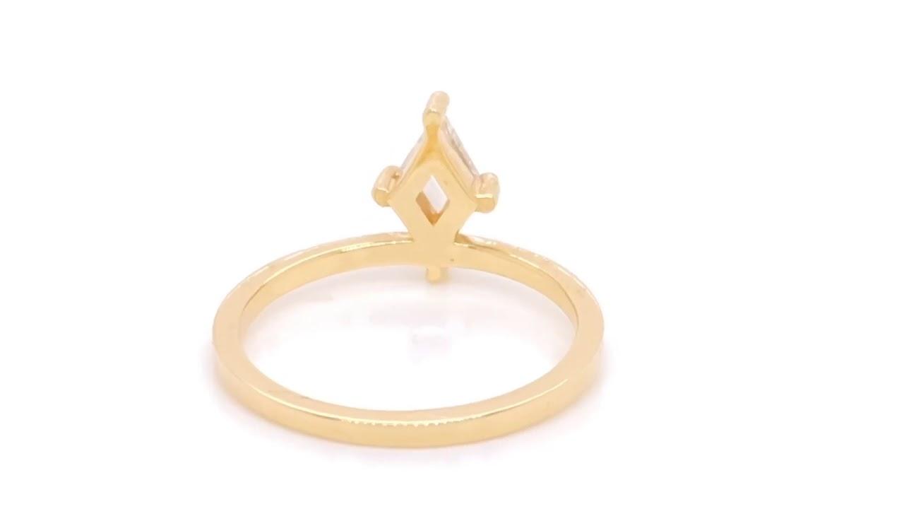 Kite Balance Diamond Engagement Ring