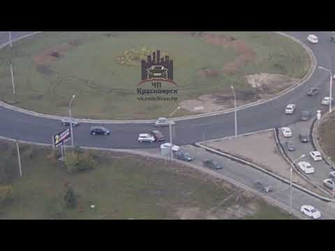 Караульная - Шахтеров 24.09.2018 ЧП Красноярск - DomaVideo.Ru