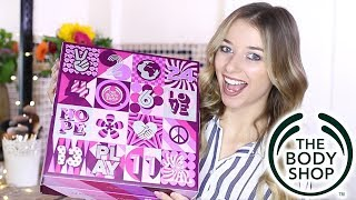 Video THE BODY SHOP ADVENT CALENDAR 2017 | Eltoria MP3, 3GP, MP4, WEBM, AVI, FLV April 2018
