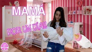 24 HORAS SIENDO MAMÁ (Mamá por un día )LA DIVERSION DE MARTINA