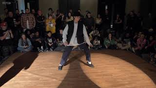 PureON vs Angyil – FREESTYLE SESSION 2019 POPPING TOP16
