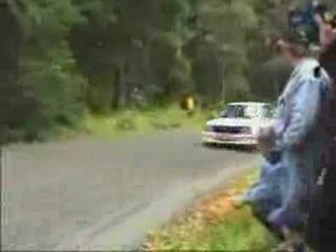 Worst Rally Race Corner Ever?
