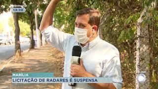 Licitação de radares é suspensa em Marília