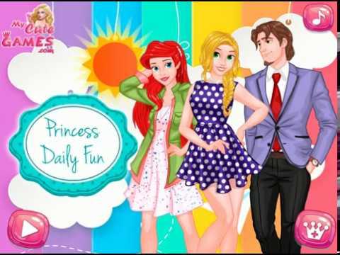 Dia de Diversão das Princesas, jogos gratis, jogos de meninas, jogos de princesas