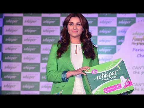 Parineeti Chopra Ends The PERIOD Taboo With WHISPE