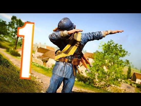 Battlefield 1 - Random & Funny Moments #18 (New Maps, Victory Dance!) (видео)