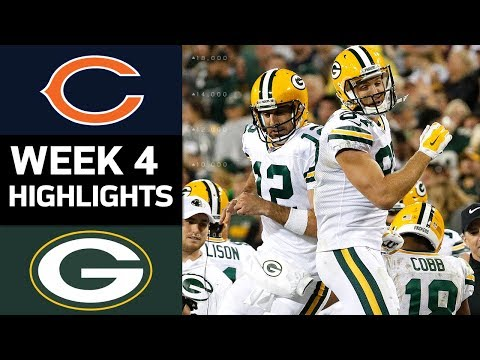 Video: Bears vs. Packers | NFL Week 4 Game Highlights