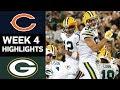 Bears Vs Packers Nfl Week 4 Game Highlights