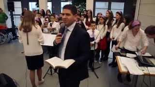 Coro dei bambini Philadelphia alla Casa di riposo Residenze per Anziani di Treviso