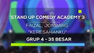 Video Stand Up Comedy Academy 3 - Faizal, Jombang - Keresahanku MP3, 3GP, MP4, WEBM, AVI, FLV Februari 2018