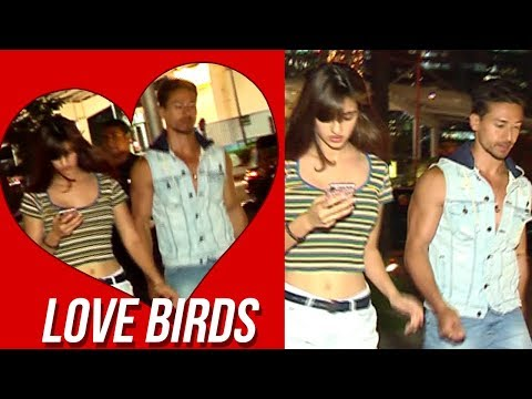 Love Bird Tiger Shroff And Disha Patani On A Dinne