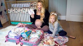 Video The Baby is ALMOST HERE!!!! (Packing Our Hospital Bag) MP3, 3GP, MP4, WEBM, AVI, FLV Desember 2018