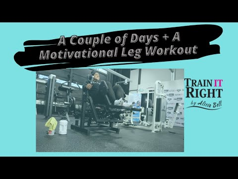 Vlog 400 | A Couple Of Days + Leg Day