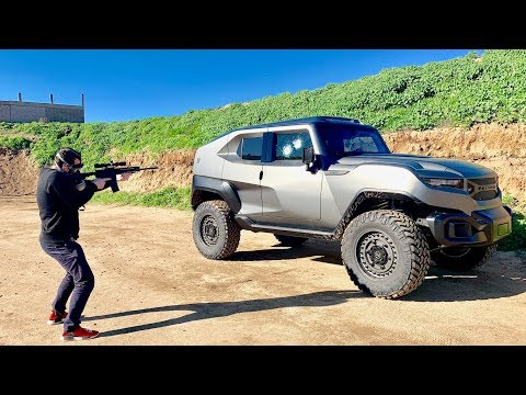 IS THE $300,000 REZVANI TANK ACTUALLY BULLET PROOF?!