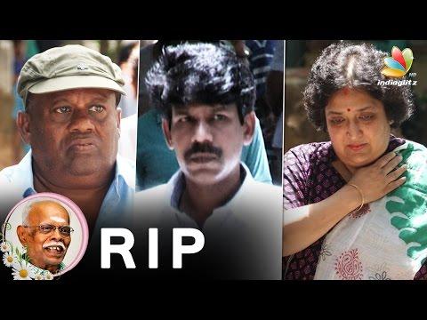 Senthil-Director-Bala-Latha-Rajinikanth-at-Panju-Arunachalam-Death-Latest-Funeral-Video