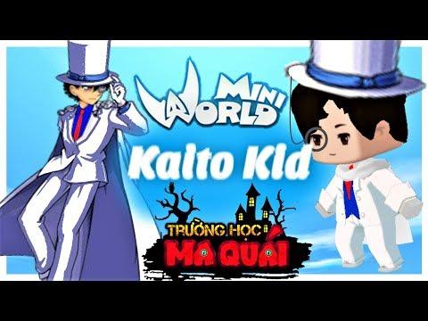 TRƯỜNG HỌC MA QUÁI: -tập 19- 1 ngày làm Kaito kid | thử thách trở thành ảo thuật gia mini world - Thời lượng: 11 phút.