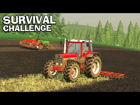 TWO TRACTORS ON THE GO - Survival Challenge No Mans Land FS19 Ep 10