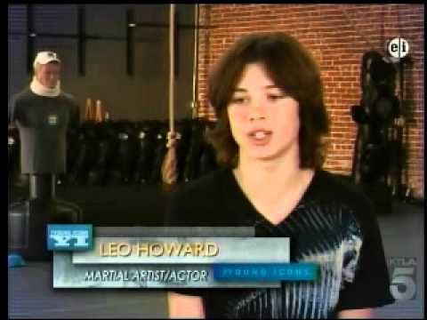 Leo Howard in Young Icons!