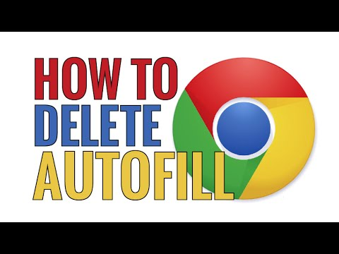 How To Delete Chrome Address Bar Autofill Suggestions
