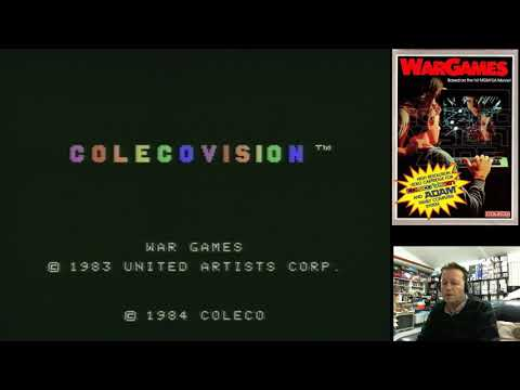 Retro Colecovision Games (Dukes Of Hazard, War Games, Tarzan & Cabbage Patch) Pickup & Play Aug 2017