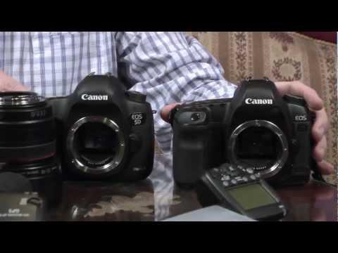 Porównanie budowy Canona EOS 5D Mark III oraz poprzednika