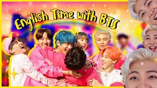 Video BTS ENGLISH TIME | BTS Speaking English Compilation MP3, 3GP, MP4, WEBM, AVI, FLV Juni 2019