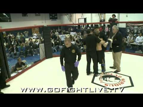 0 MMA Ref Taps Out!