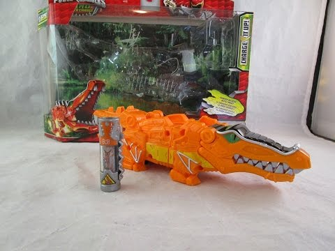 Deinosuchus Zord with Charger Review (Power Rangers Dino Super Charge)