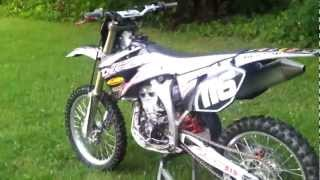 10. 2008 Yamaha YZ250F Special Edition - For Sale
