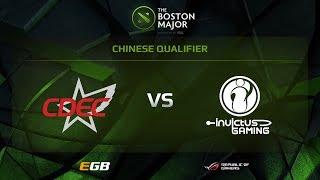 CDEC Gaming vs Invictus Gaming, Boston Major EU Qualifiers