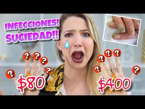 Videos de uñas - FUI A HACERME LAS UÑAS BARATO VS CARO! *Mira lo que pasó*
