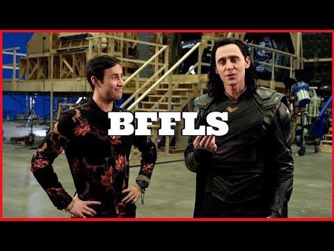 TWO TRUTHS AND A LOKI LIE - Tom Hiddleston // Thor Ragnarok (Disney Channel)