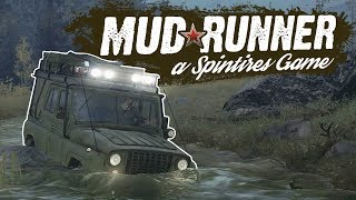Spintires Mudrunner - First Look Gameplay Highlights - Deep In The Bog - Spintires Mudrunner PC
