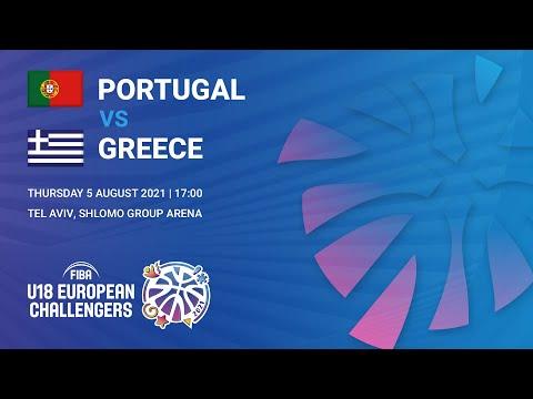 Πορτογαλία - Ελλάδα (European Challenger 2021) Οικονομόπουλος #9