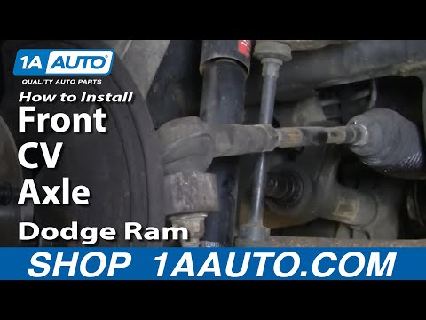 Auto Repair Replace Change Front CV Axle Dodge Ram 02-08 1AAuto.com