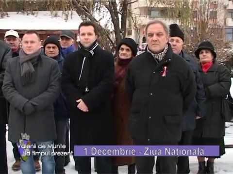 Emisiunea Vălenii de Munte la timpul prezent – Ziua națională – 5 decembrie 2014