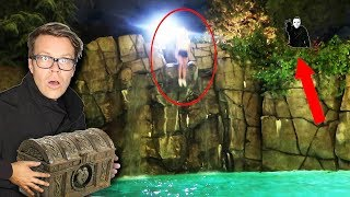 GAME MASTER Hypnotized REBECCA ZAMOLO to Jump 45FT in Pool Overnight! Code 10 Mystery Treasure Found