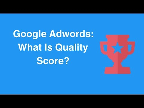 Watch 'Google Adwords: What Is Quality Score? - YouTube'