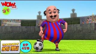Video Pertandingan Bola Motu Patlu - Motu Patlu dalam Bahasa - Animasi 3D Kartun MP3, 3GP, MP4, WEBM, AVI, FLV Agustus 2018