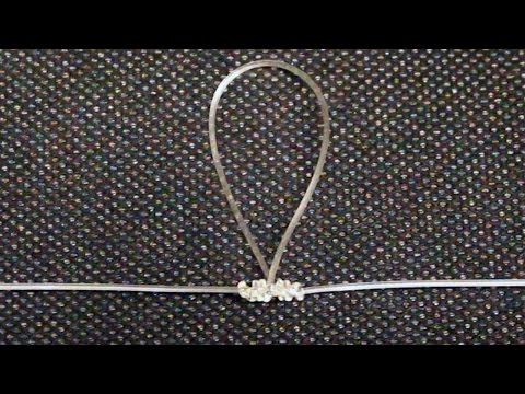 How To Tie A Dropper Loop Knot - Awesome Fishing Knot