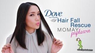 โมเมท้าพิสูจน์... Dove Hair Fall Rescue