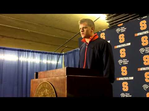 Ryan Nassib Interview Post-Game Northwestern video.