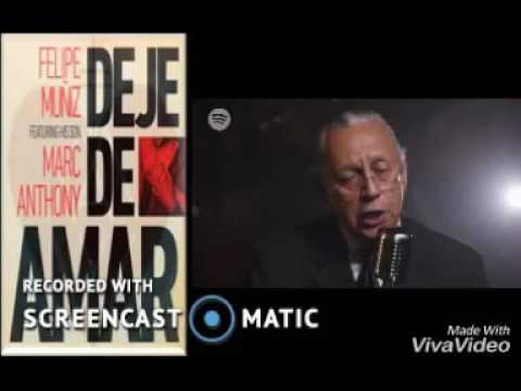 Letra Deje de Amar Felipe Muñiz Ft Marc Anthony