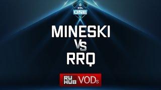 Mineski vs RRQ, ESL One Genting Quals, game 1 [LightOfHeaveN, Mila]